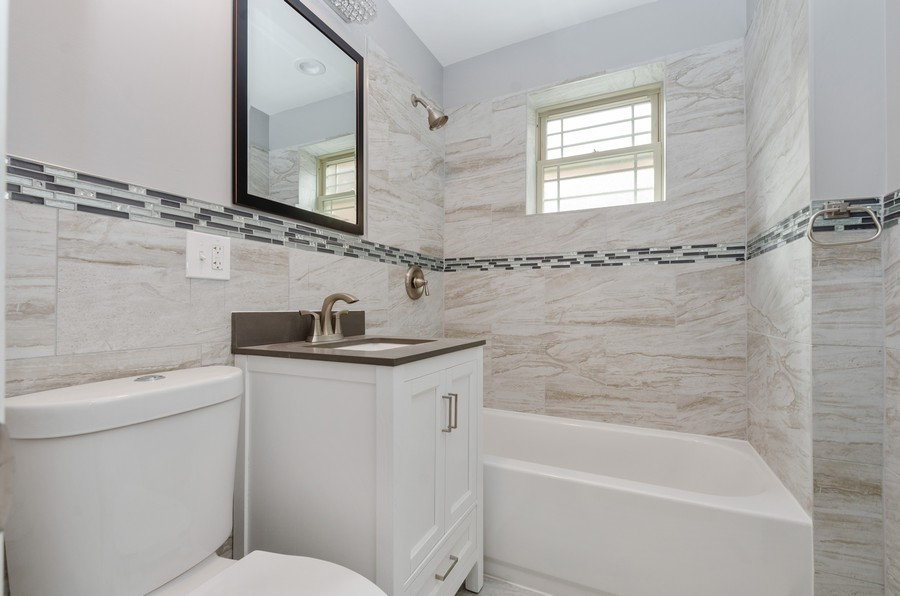 Real Estate Photography - 8223 S Chappel Ave, Chicago, IL, 60617 - Bathroom