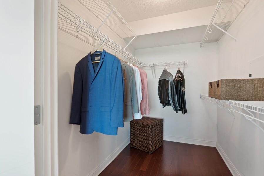 Real Estate Photography - 1720 Maple, Unit 2660, Evanston, IL, 60201 - Closet