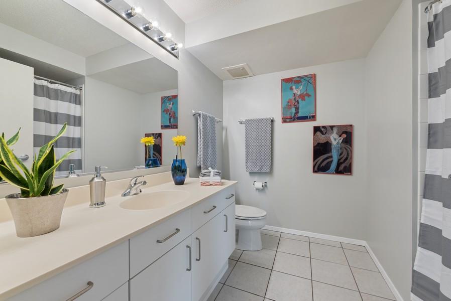 Real Estate Photography - 1720 Maple, Unit 2660, Evanston, IL, 60201 - Bathroom