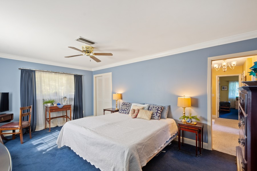 Real Estate Photography - 3424 Lacewood Road, Tampa, FL, 33618 - Master Bedroom
