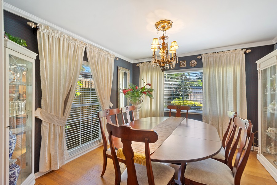 Real Estate Photography - 3424 Lacewood Road, Tampa, FL, 33618 - Dining Room