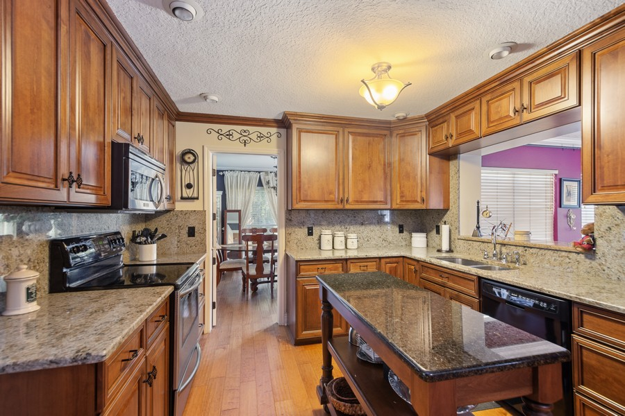 Real Estate Photography - 3424 Lacewood Road, Tampa, FL, 33618 - Kitchen