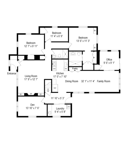 Real Estate Photography - 8 Whitehill Place, Cold Spring, NY, 10516 - Floor Plan