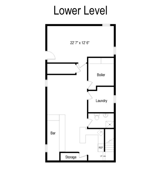 Real Estate Photography - 136-19 63rd Ave., New York, NY, 11367 - Floor Plan