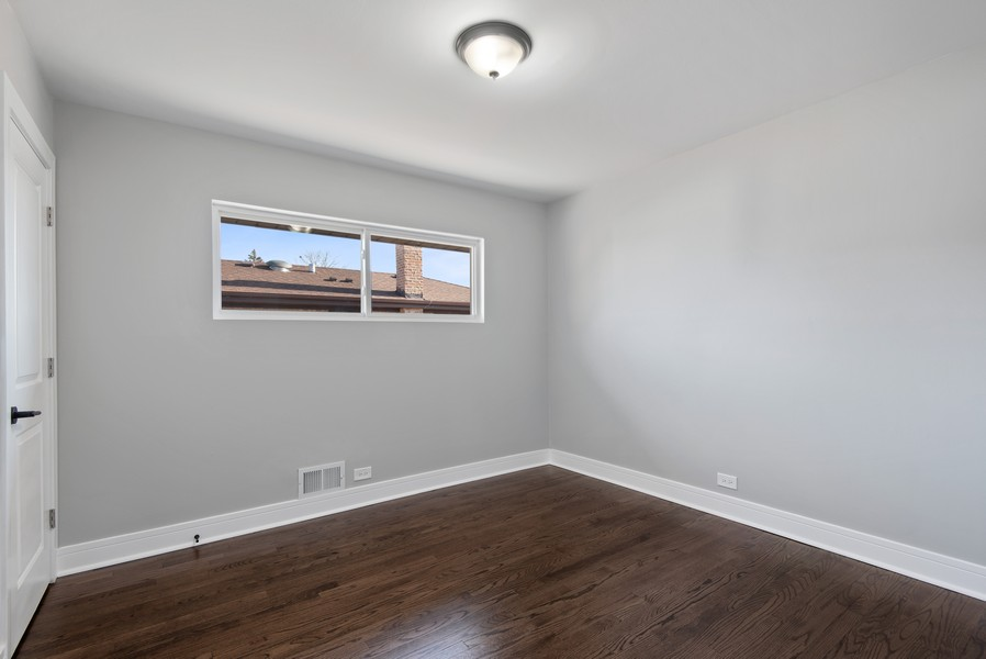 Real Estate Photography - 3534 Arcadia St, Evanston, IL, 60203 - 3rd Bedroom