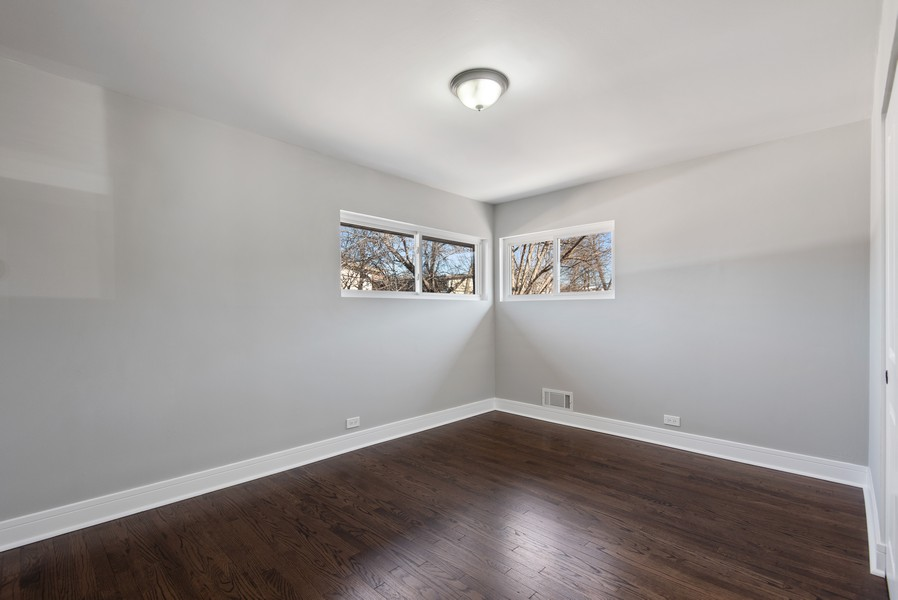 Real Estate Photography - 3534 Arcadia St, Evanston, IL, 60203 - Master Bedroom
