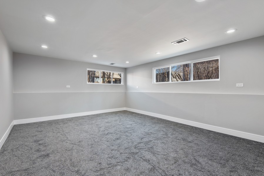 Real Estate Photography - 3534 Arcadia St, Evanston, IL, 60203 - Family Room