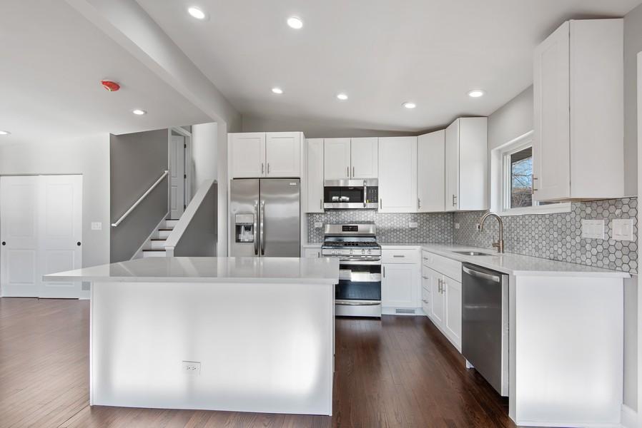 Real Estate Photography - 3534 Arcadia St, Evanston, IL, 60203 - Kitchen