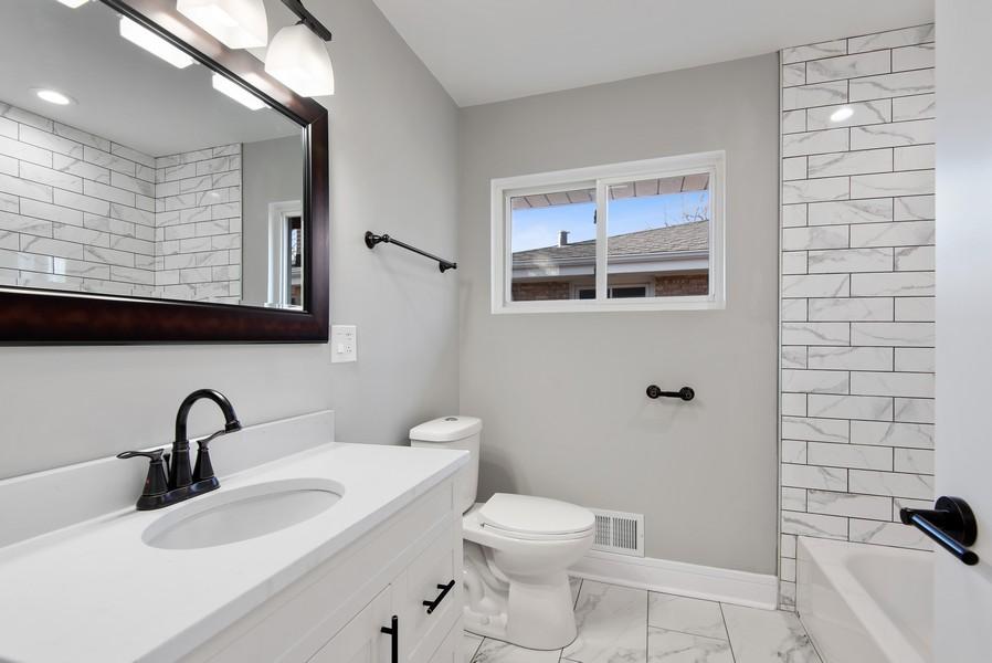 Real Estate Photography - 3534 Arcadia St, Evanston, IL, 60203 - Bathroom