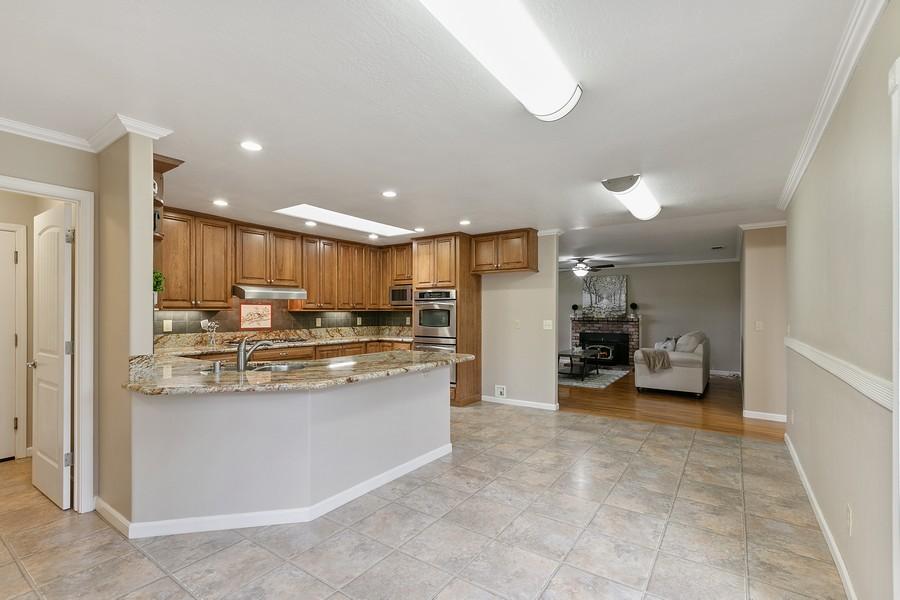 Real Estate Photography - 554 Menker, San Jose, CA, 95128 - Kitchen / Living Room