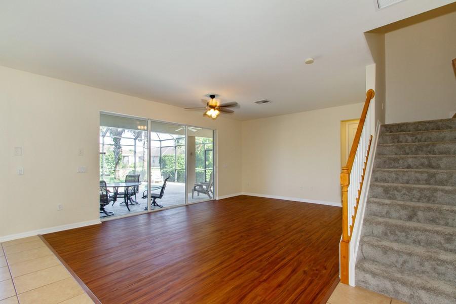 Real Estate Photography - 2099 Sagebrush Cir, Naples, FL, 34120 - Living Room
