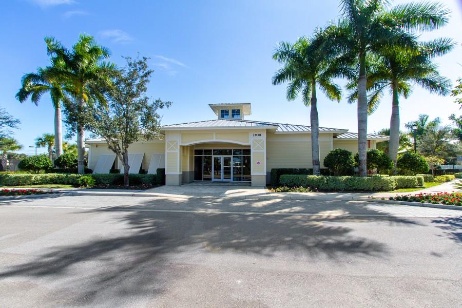 Real Estate Photography - 2099 Sagebrush Cir, Naples, FL, 34120 - Clubhouse