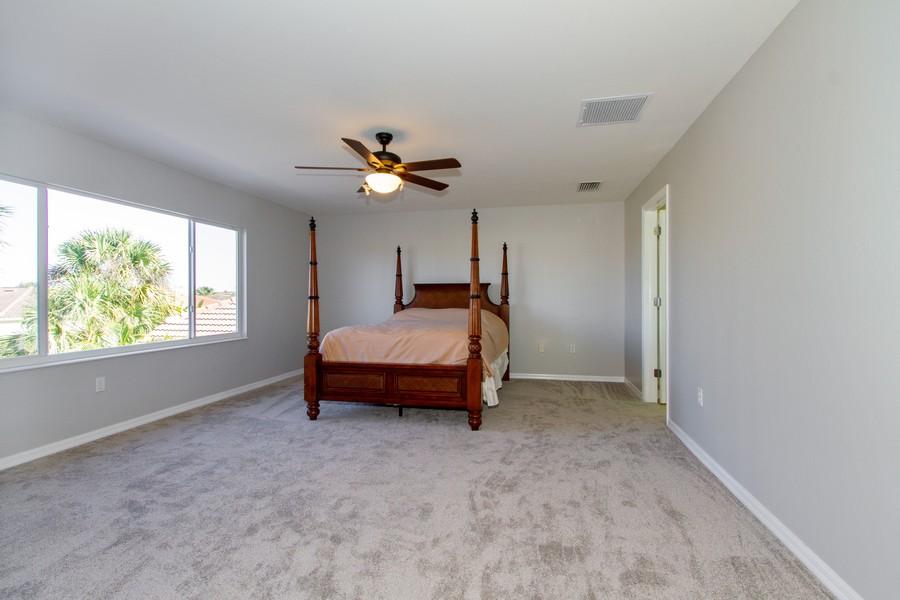 Real Estate Photography - 2099 Sagebrush Cir, Naples, FL, 34120 - Master Bedroom