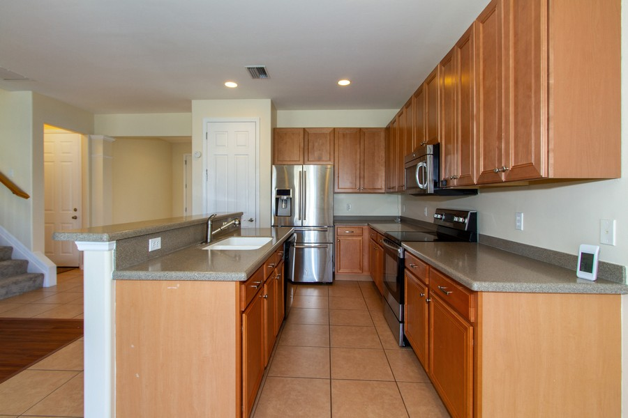 Real Estate Photography - 2099 Sagebrush Cir, Naples, FL, 34120 - Kitchen