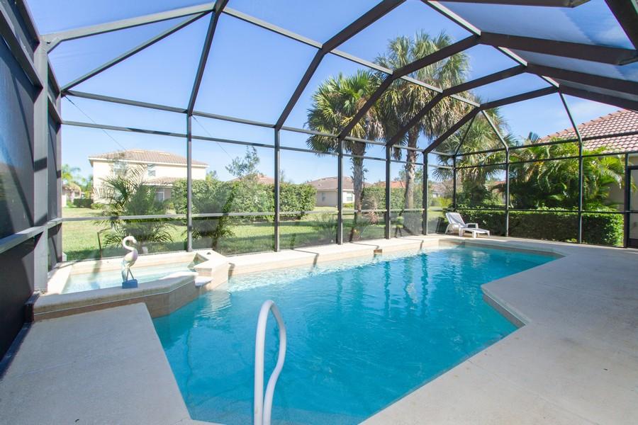 Real Estate Photography - 2099 Sagebrush Cir, Naples, FL, 34120 - Outdoor Pool