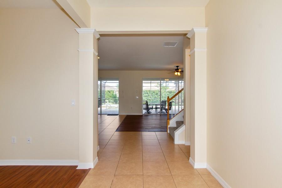 Real Estate Photography - 2099 Sagebrush Cir, Naples, FL, 34120 - Hallway