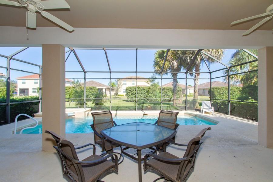 Real Estate Photography - 2099 Sagebrush Cir, Naples, FL, 34120 - Lanai