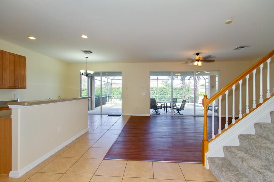 Real Estate Photography - 2099 Sagebrush Cir, Naples, FL, 34120 - Kitchen / Living Room