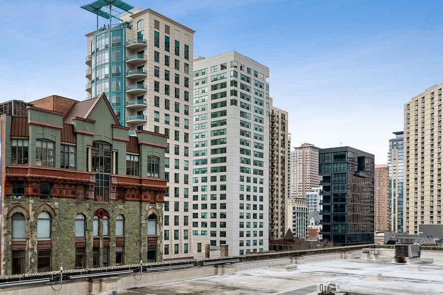 Real Estate Photography - 635 N Dearborn, Unit 803, Chicago, IL, 60654 - View