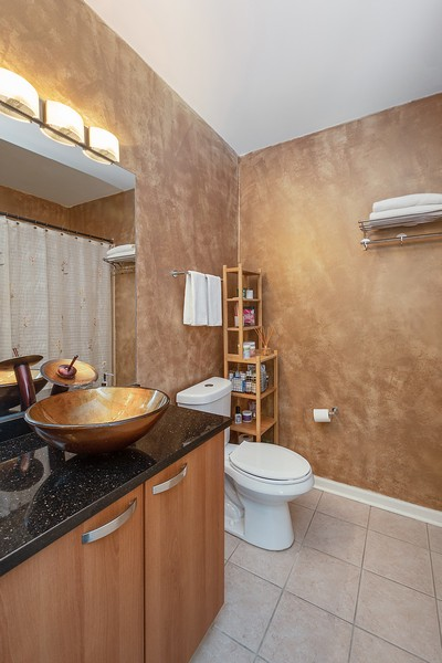 Real Estate Photography - 635 N Dearborn, Unit 803, Chicago, IL, 60654 - Bathroom