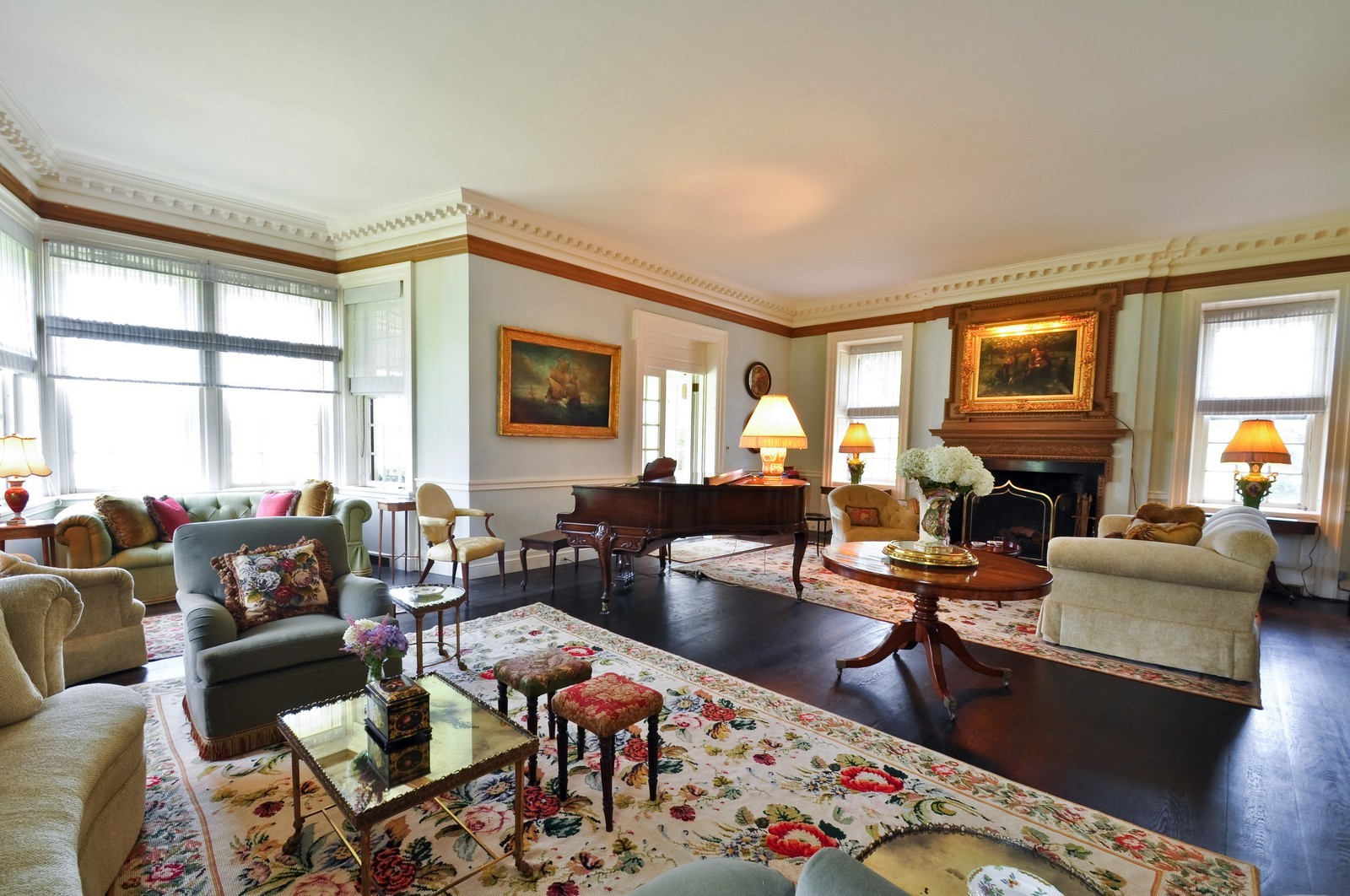 ... Real Estate Photography   1078 Sasco Hill Road, Fairfield, CT, 06824    Living ...