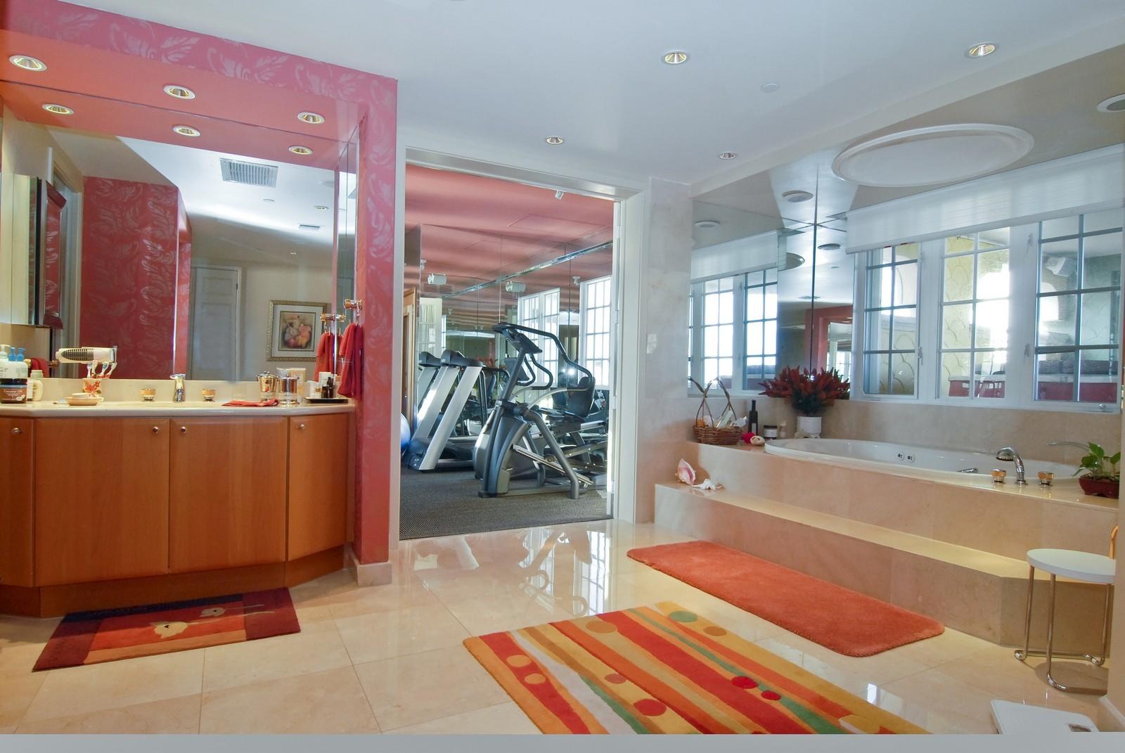 Real Estate Photography - 5294 Fisher Island Dr, Fisher Island, FL, 33109 - Master Bathroom