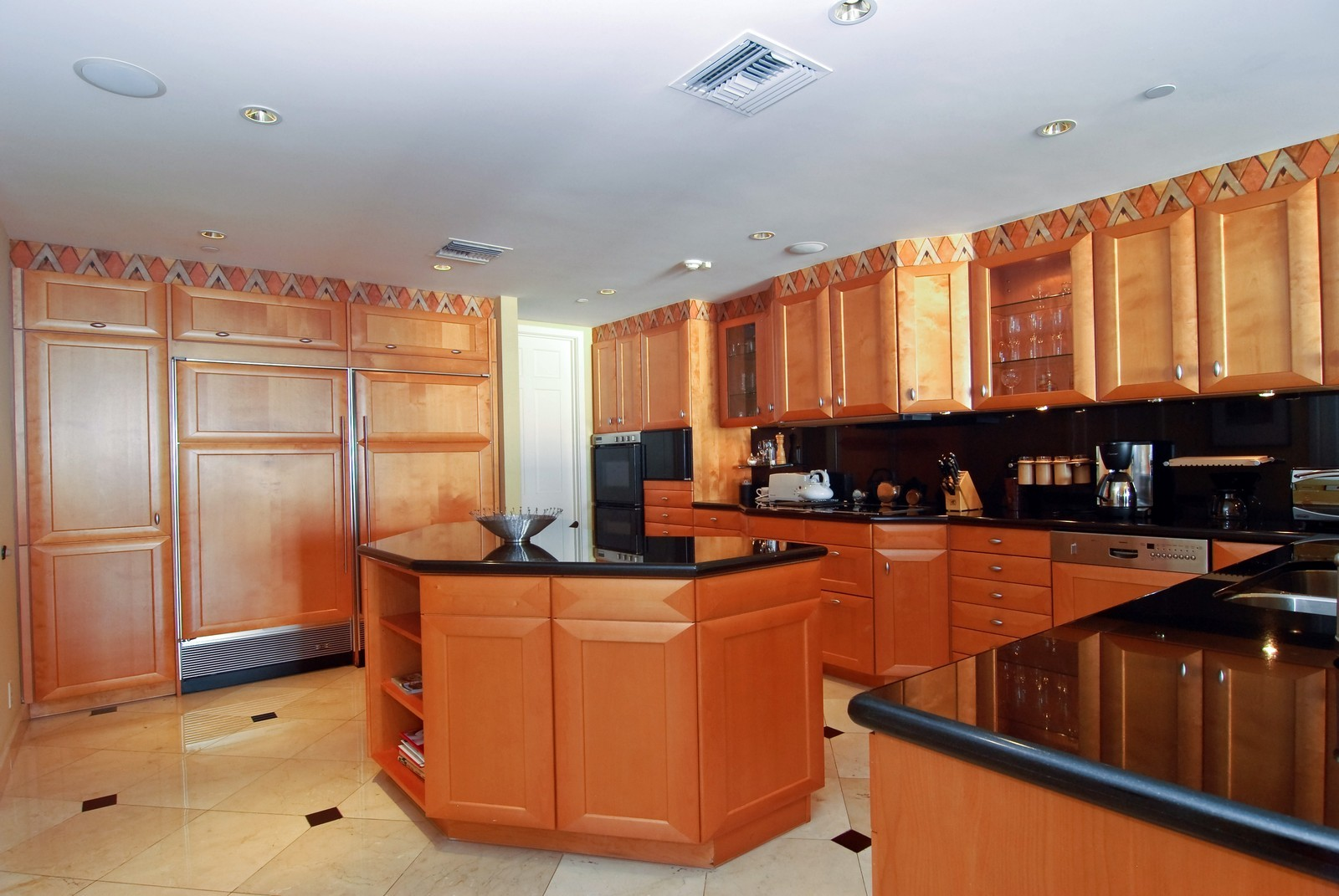 Real Estate Photography - 5294 Fisher Island Dr, Fisher Island, FL, 33109 - Kitchen