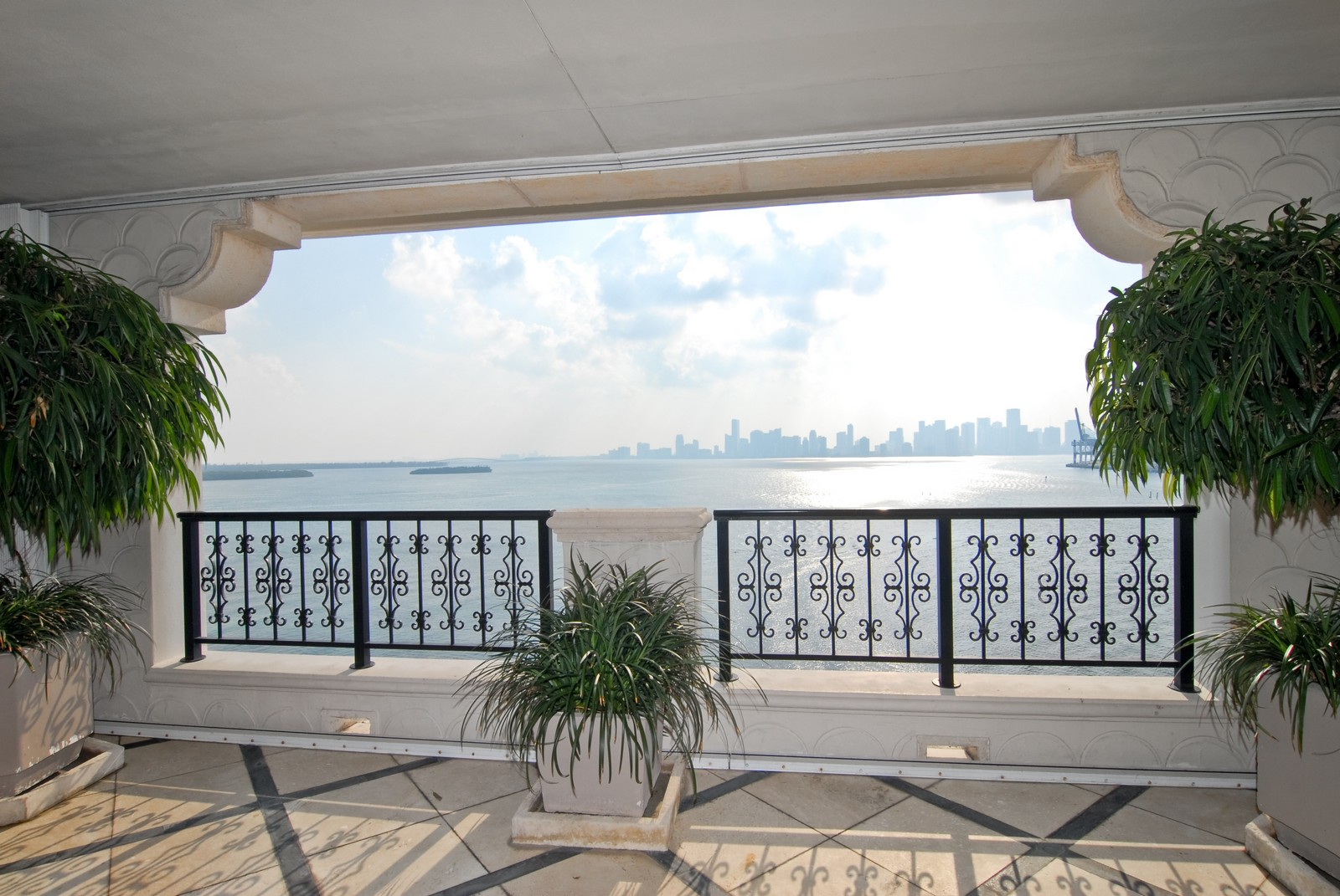 Real Estate Photography - 5294 Fisher Island Dr, Fisher Island, FL, 33109 - Balcony