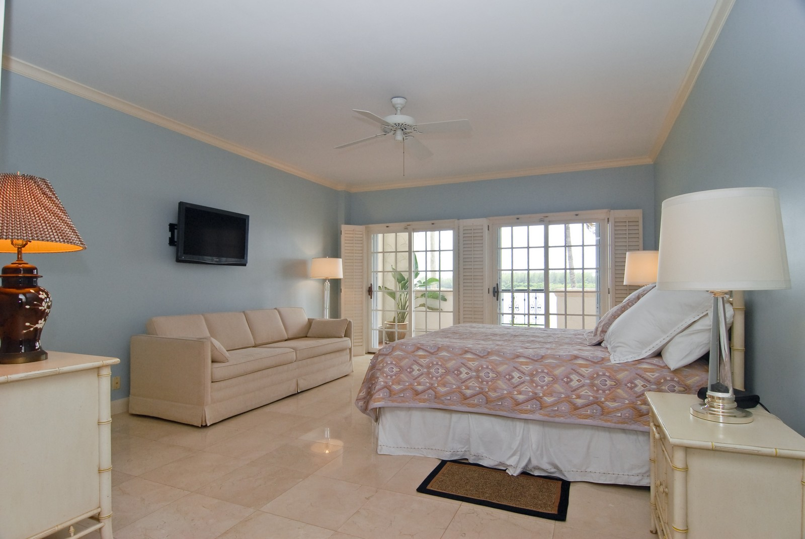 Real Estate Photography - 2426 Fisher Island Dr, Fisher Island, FL, 33109 - Master Bedroom