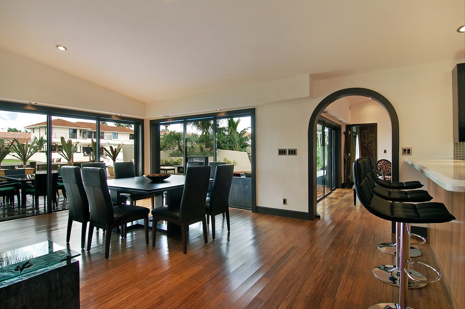 Real Estate Photography - 935 Gardenia Dr, Delray Beach, FL, 33483 - Dining Area