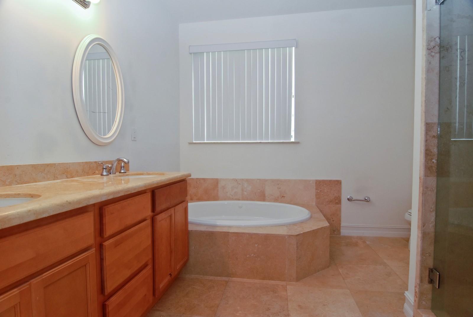 Real Estate Photography - 3034 Indiana St, Miami, FL, 33133 - Master Bathroom