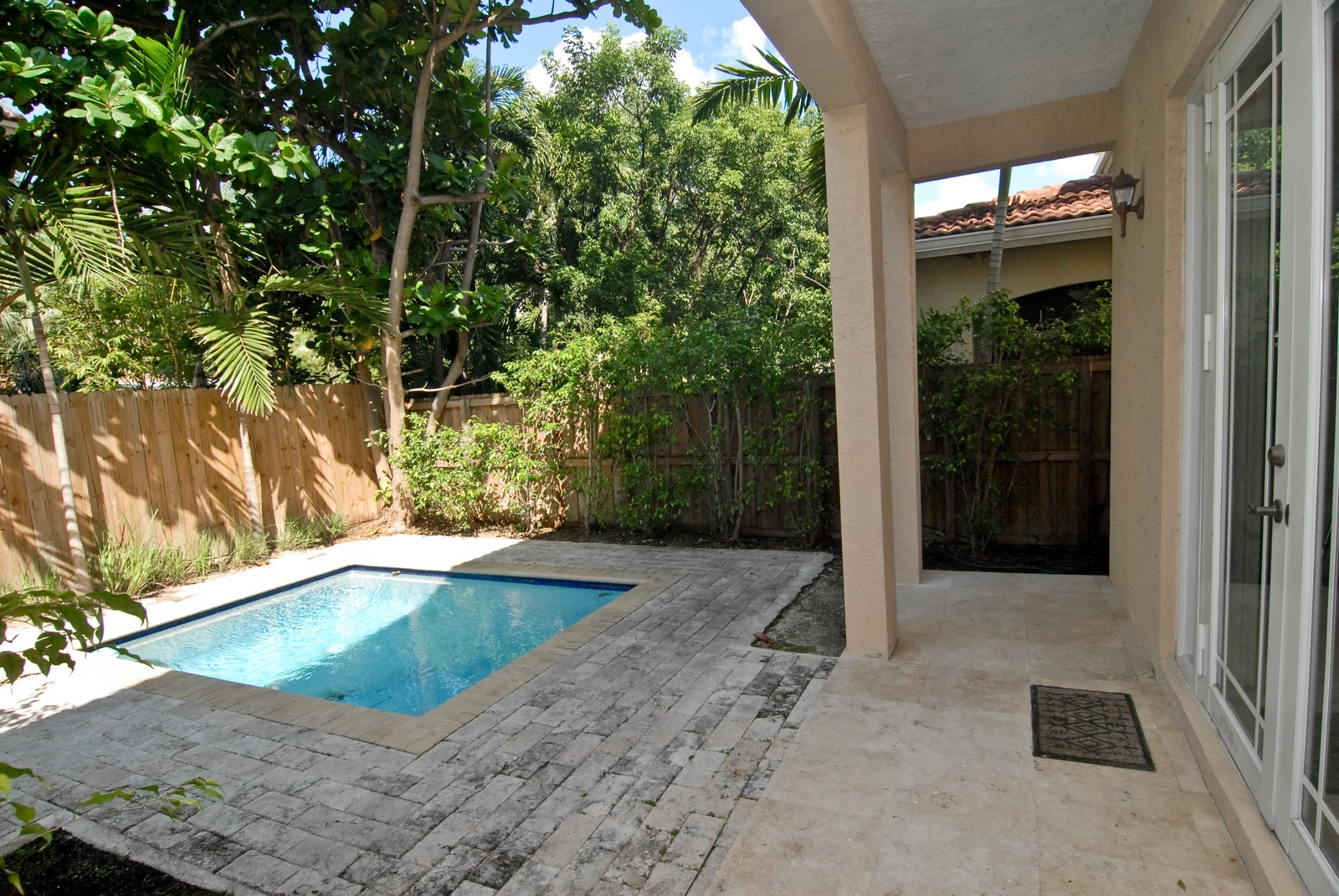 Real Estate Photography - 3034 Indiana St, Miami, FL, 33133 - Pool