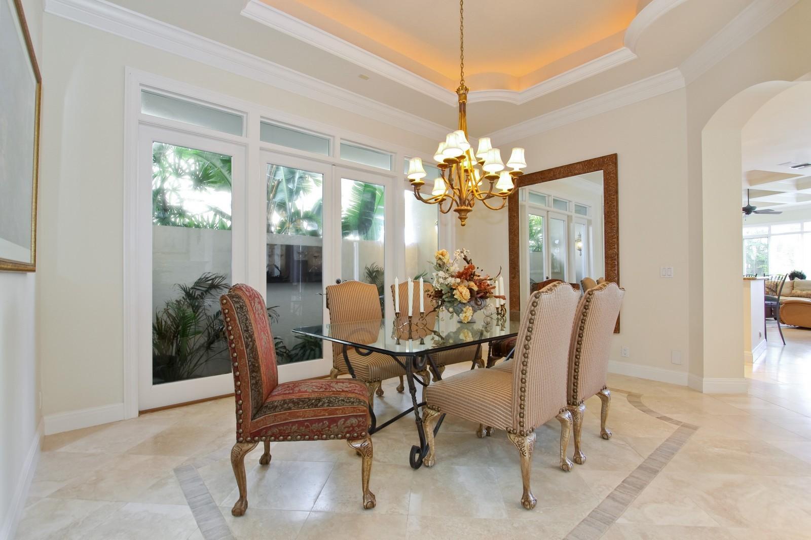 Real Estate Photography - 3527 Jonathans Harbour Dr, Jupiter, FL, 33477 - Dining Room