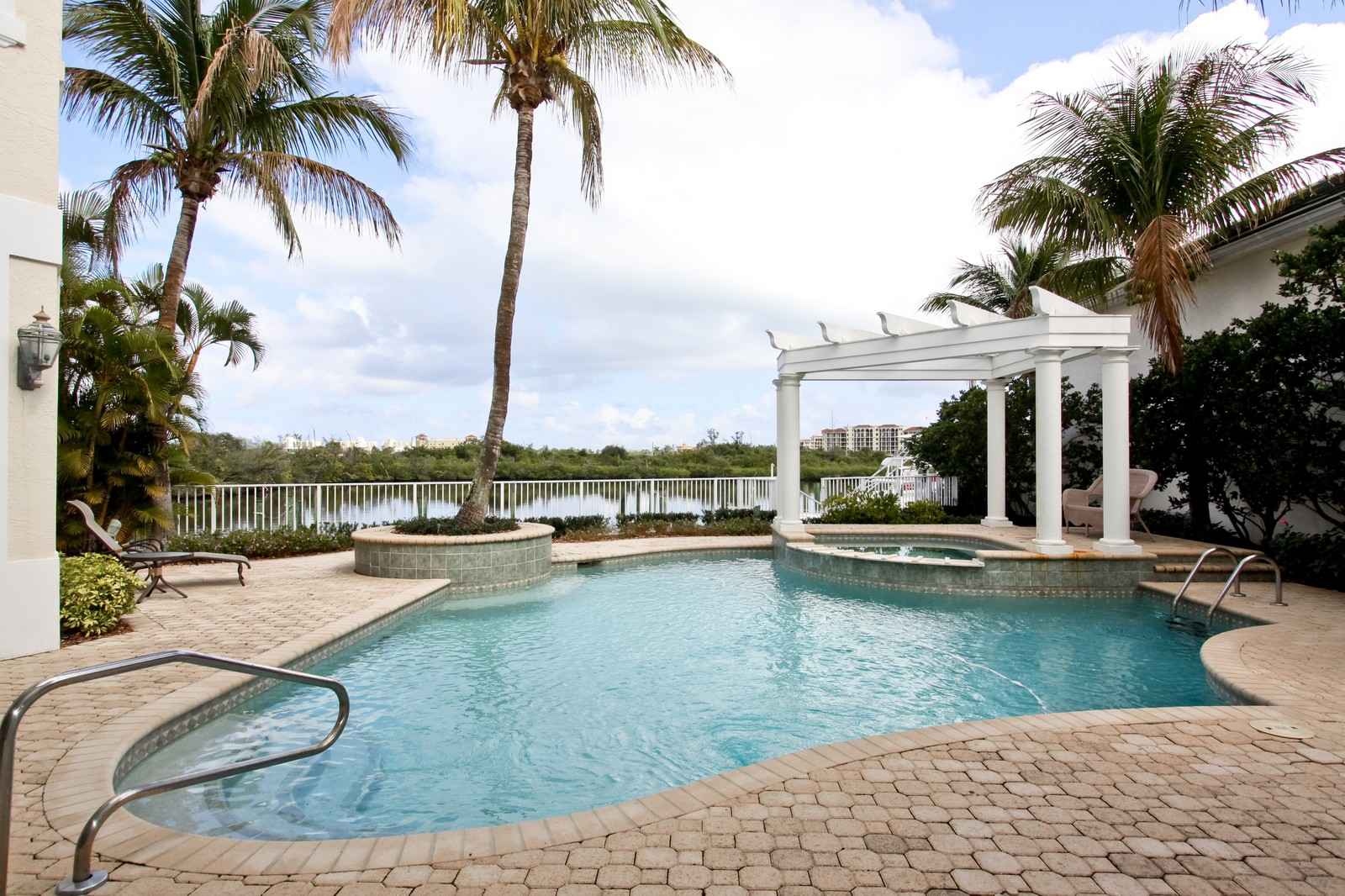 Real Estate Photography - 3527 Jonathans Harbour Dr, Jupiter, FL, 33477 - Pool
