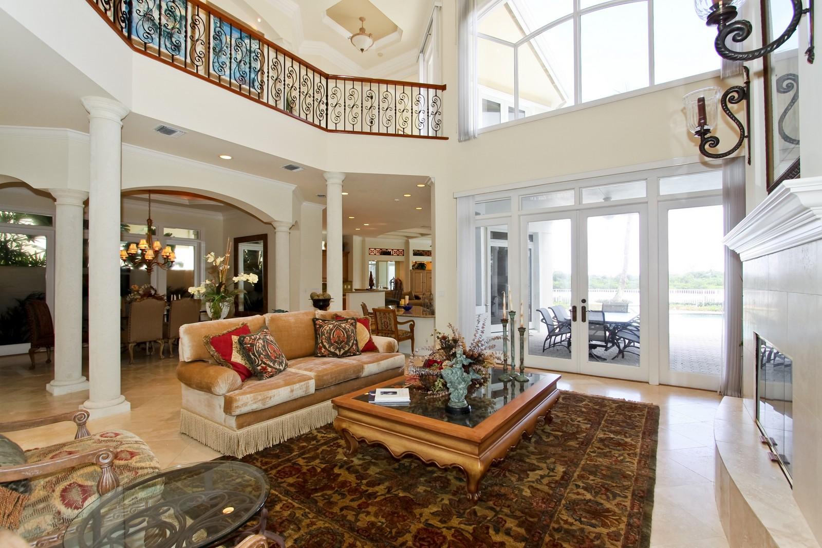 Real Estate Photography - 3527 Jonathans Harbour Dr, Jupiter, FL, 33477 - Living Room / Dining Room
