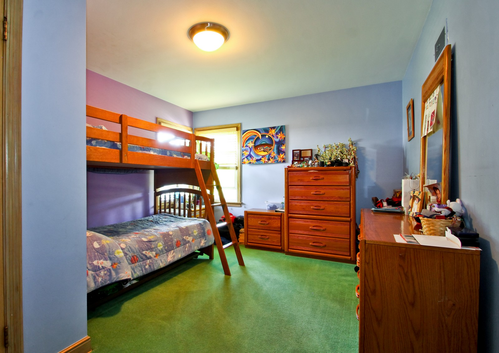 Real Estate Photography - 6645 N Central Park Ave, Lincolnwood, IL, 60712 - Bedroom