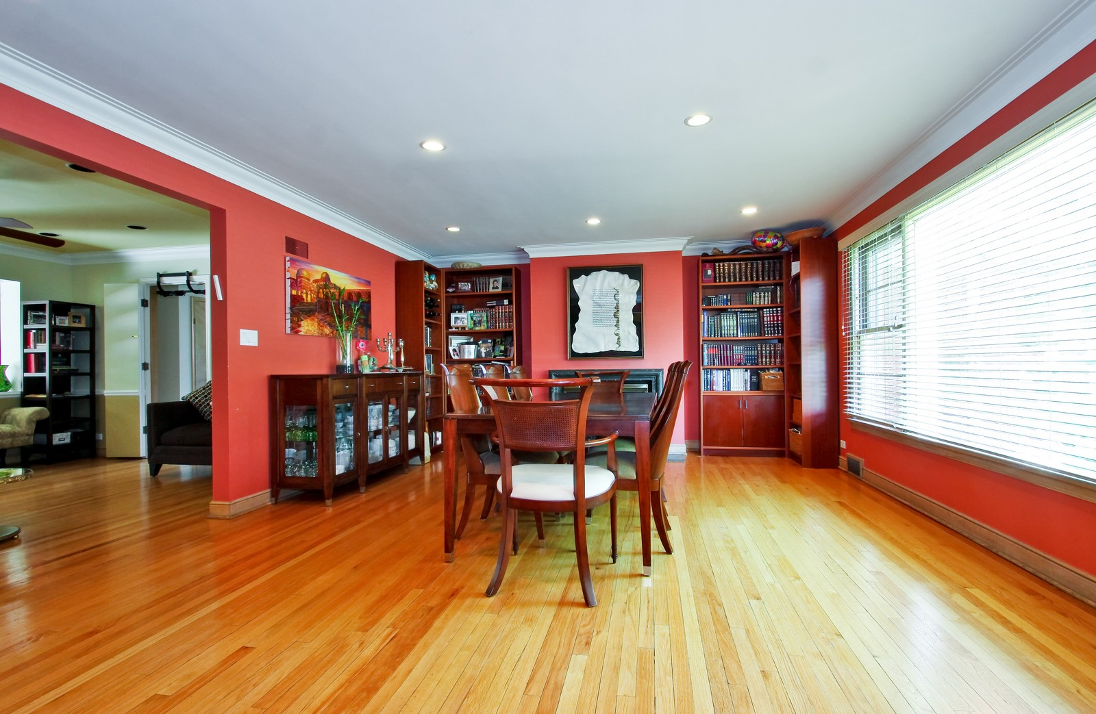 Real Estate Photography - 6645 N Central Park Ave, Lincolnwood, IL, 60712 - Dining Room