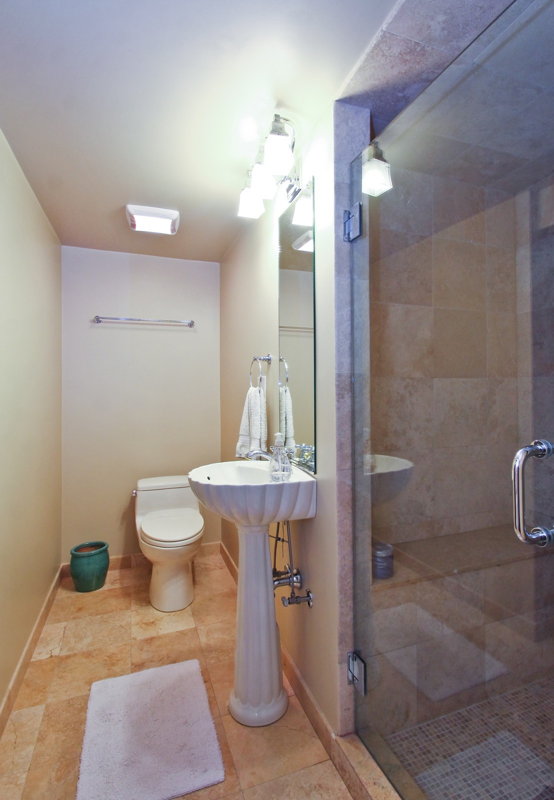 Real Estate Photography - 6645 N Central Park Ave, Lincolnwood, IL, 60712 - Bathroom