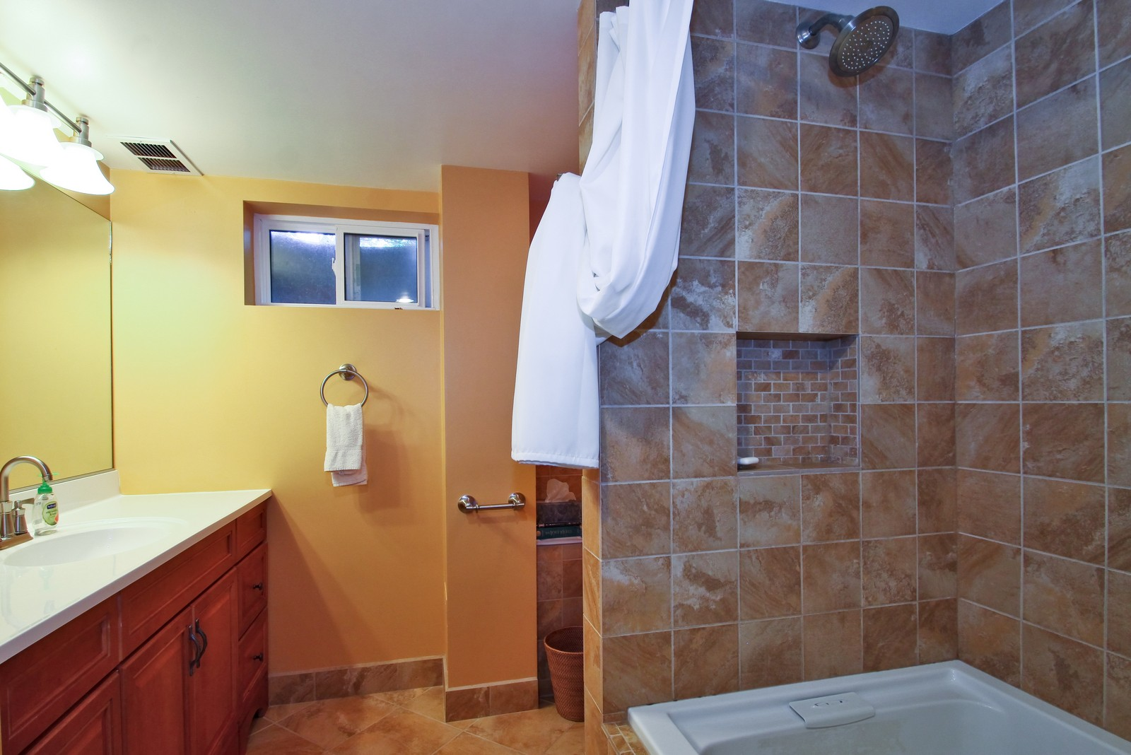 Real Estate Photography - 6645 N Central Park Ave, Lincolnwood, IL, 60712 - 2nd Bathroom