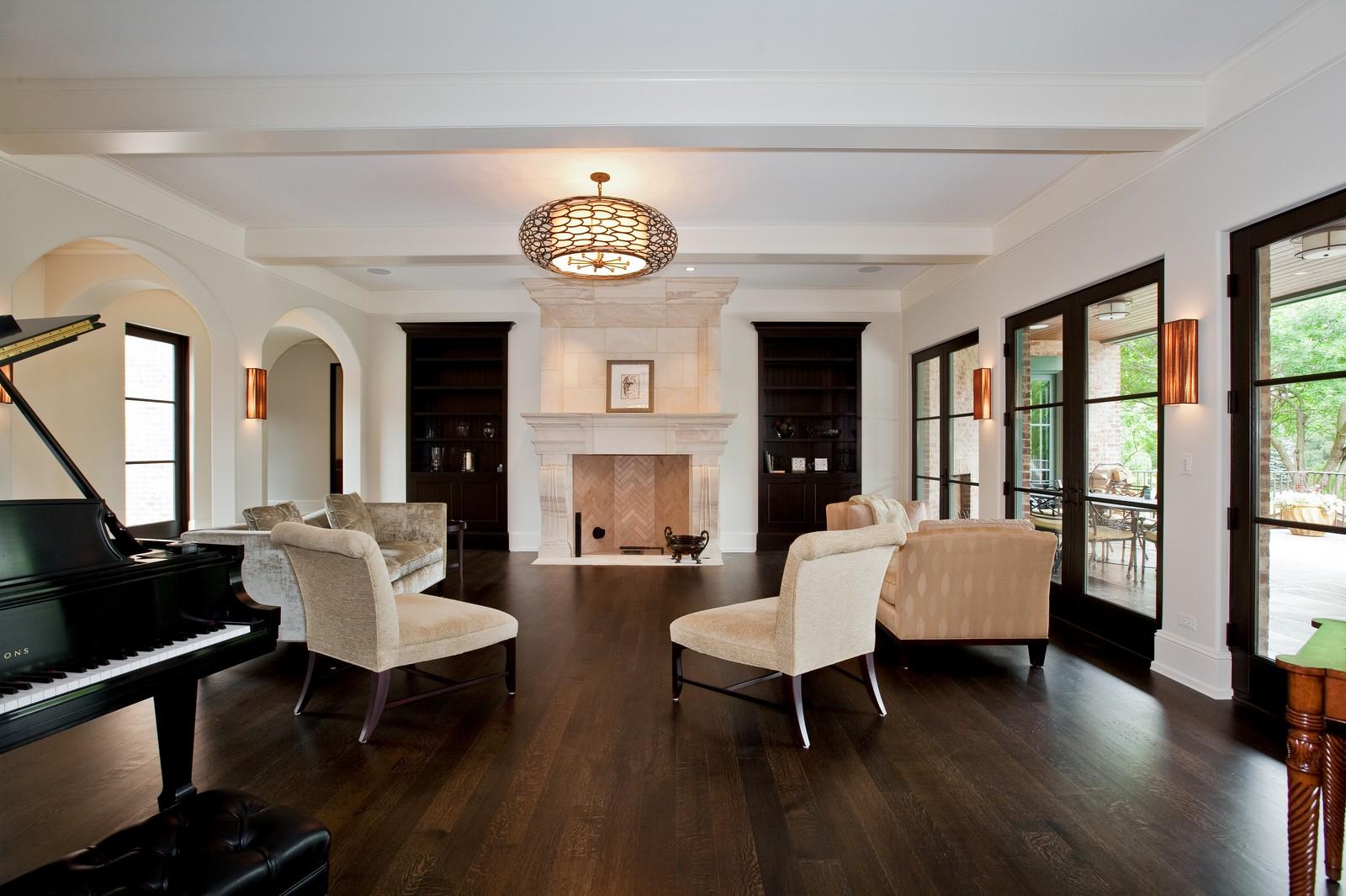 Real Estate Photography - 6143 Madison, Burr Ridge, IL, 60527 - Living Room