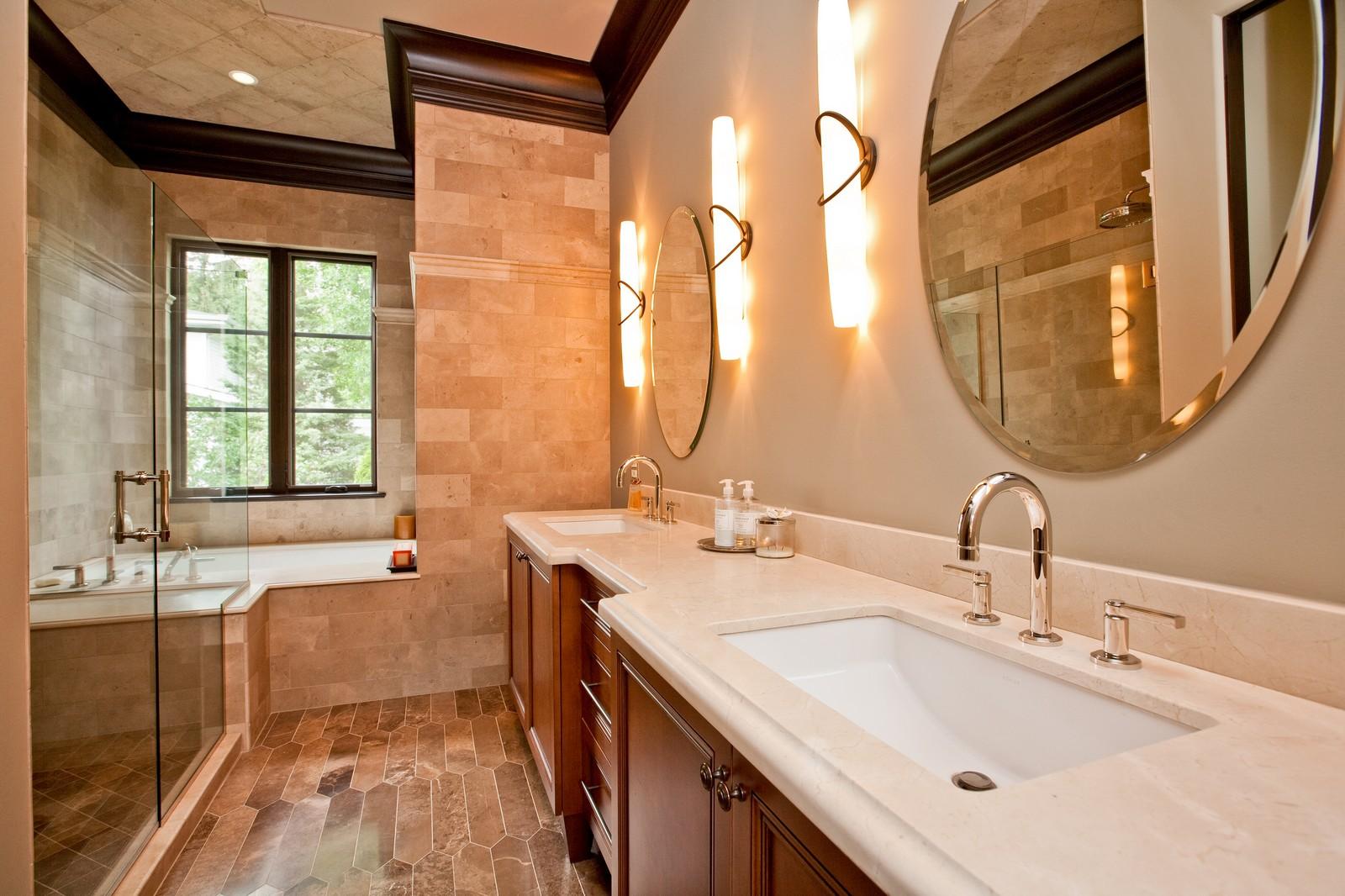 Real Estate Photography - 6143 Madison, Burr Ridge, IL, 60527 - Bathroom