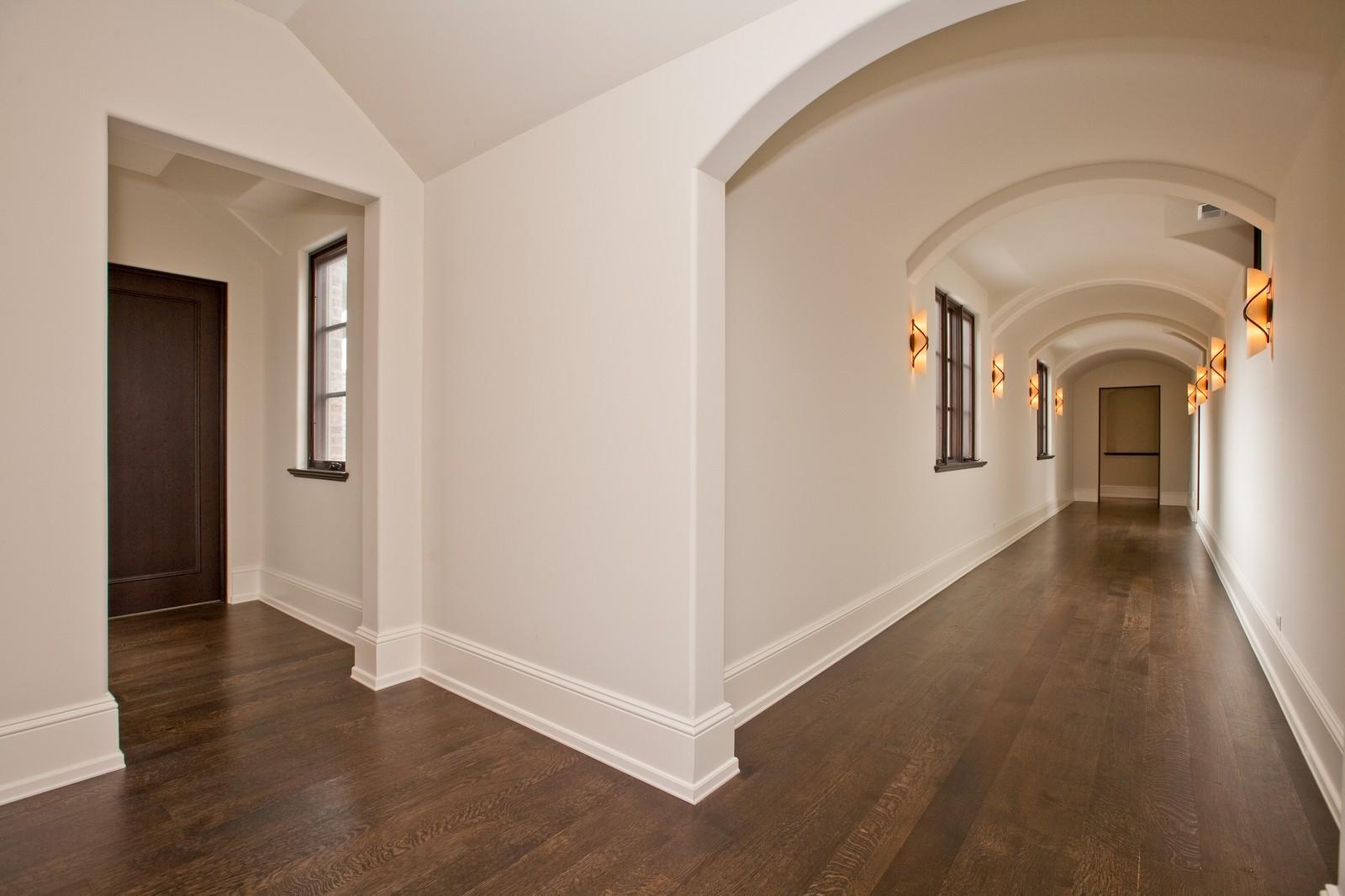 Real Estate Photography - 6143 Madison, Burr Ridge, IL, 60527 - Hallway