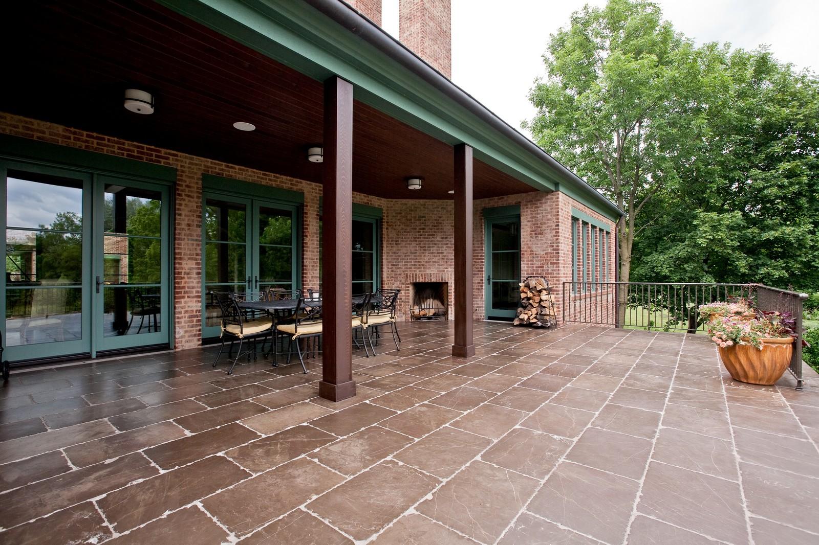 Real Estate Photography - 6143 Madison, Burr Ridge, IL, 60527 - Patio