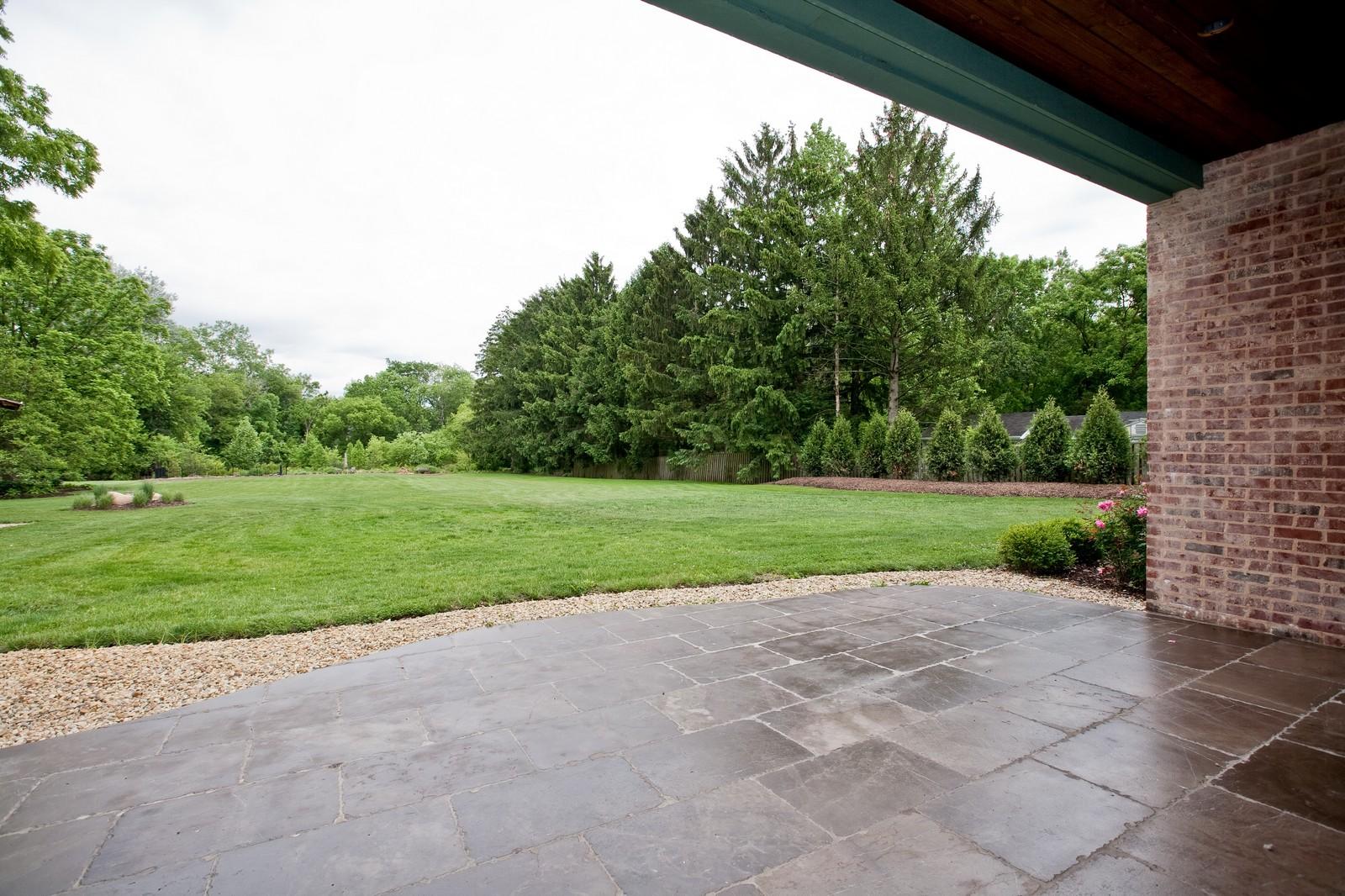 Real Estate Photography - 6143 Madison, Burr Ridge, IL, 60527 - Back Yard