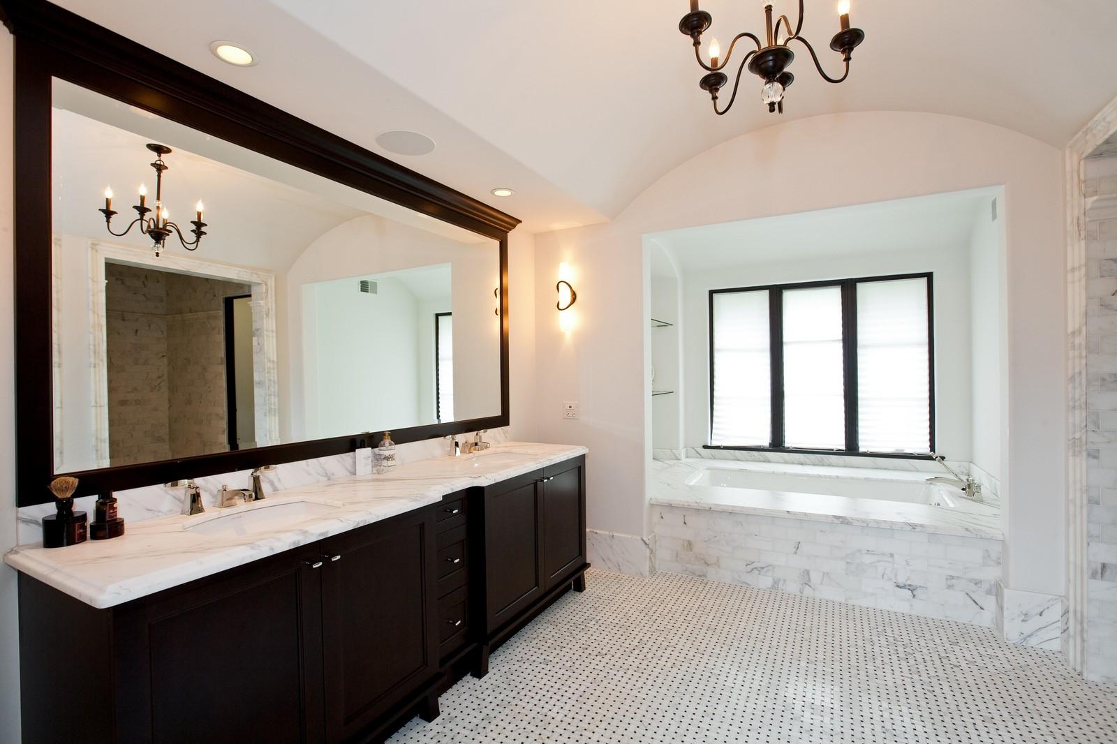 Real Estate Photography - 6143 Madison, Burr Ridge, IL, 60527 - Master Bathroom