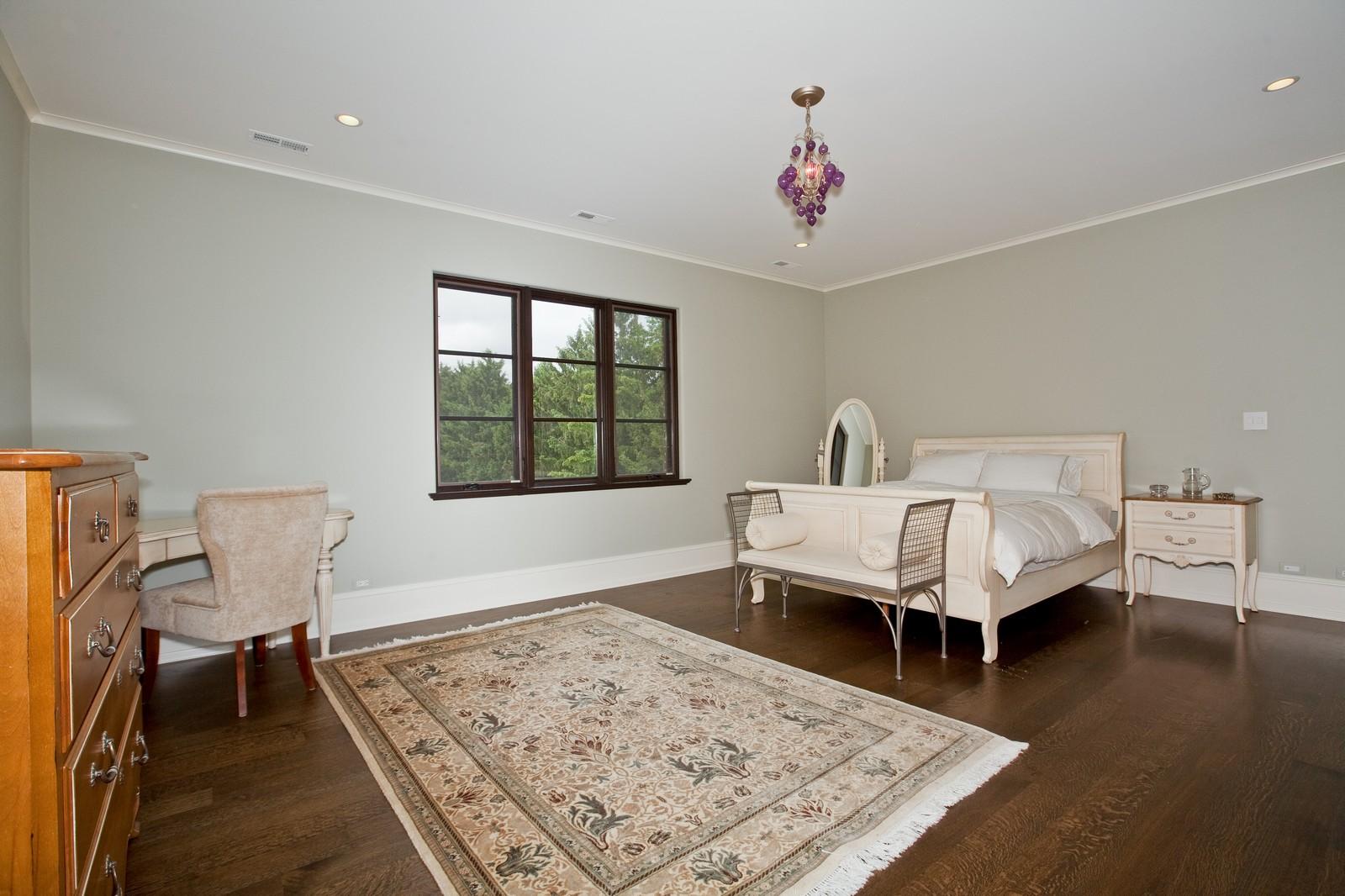 Real Estate Photography - 6143 Madison, Burr Ridge, IL, 60527 - 4th Bedroom
