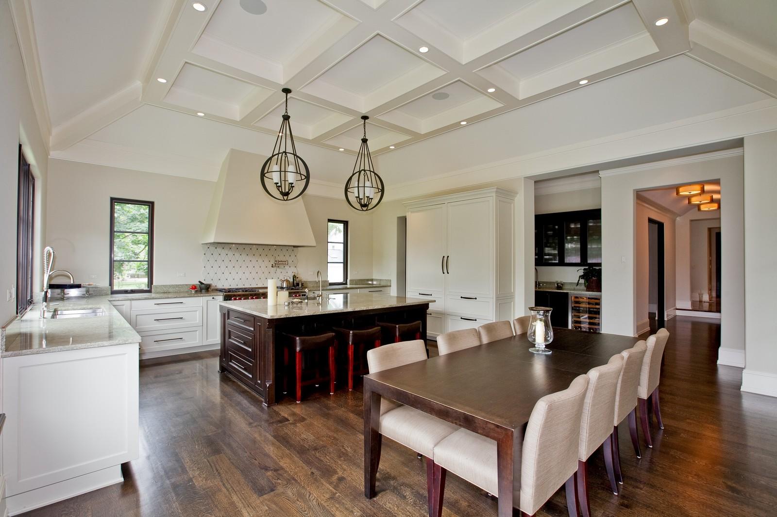 Real Estate Photography - 6143 Madison, Burr Ridge, IL, 60527 - Kitchen