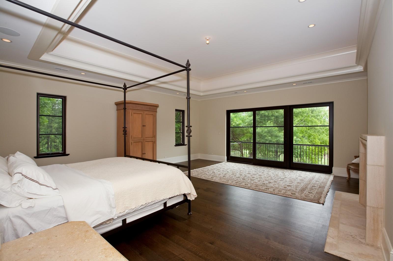 Real Estate Photography - 6143 Madison, Burr Ridge, IL, 60527 - Master Bedroom