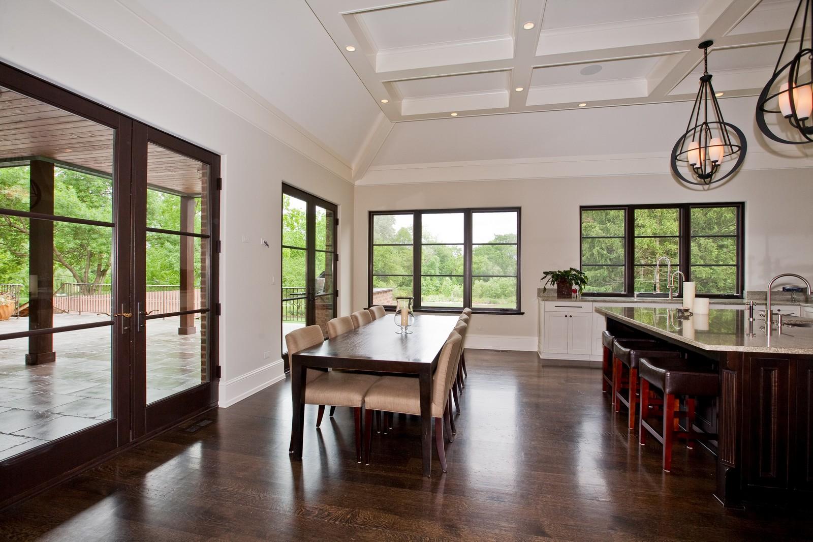 Real Estate Photography - 6143 Madison, Burr Ridge, IL, 60527 - Kitchen / Breakfast Room