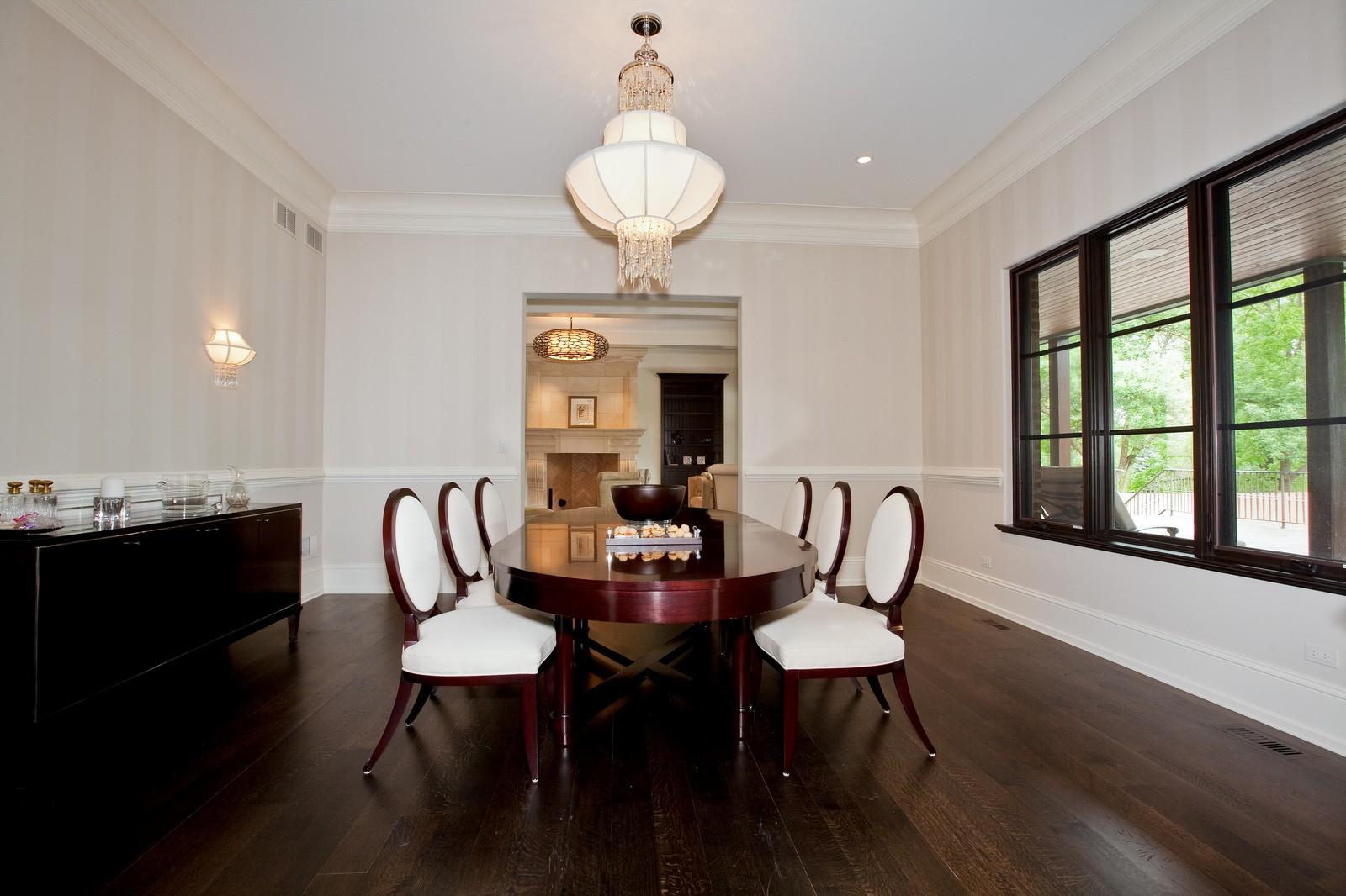 Real Estate Photography - 6143 Madison, Burr Ridge, IL, 60527 - Dining Room